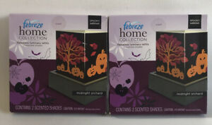 Febreze Home Collection Midnight Orchard Luminary Refill Lot Of 2 Boxes New!