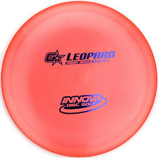 New Orange G-Star Leopard Fairway Driver 175g Innova Disc Golf gstar Blue Foil