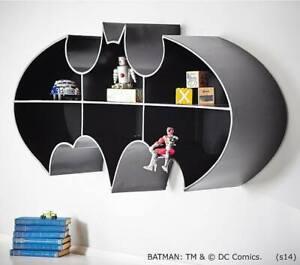 BRAND NEW SOLD OUT POTTERY BARN BATMAN SHELF DC DARK KNIGHT