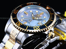 Invicta Mens 300M Diamond Grand Diver Automatic Ltd.Ed. TwoTone SS MOP Watch
