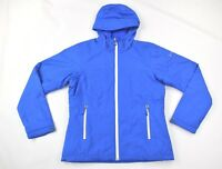 Columbia Mens Blue Water Resistant Insulated Rain Jacket SZ M