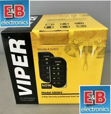 Viper 5806V 2-Way LED Car Alarm Security System and Remote Start Complete NEW