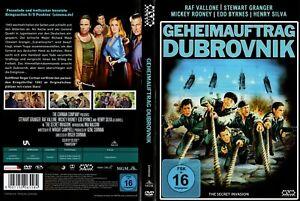 """""""Geheimauftrag Dubrovnik"""" Packender Kriegsthriller! Italien 1943! Neue DVD!"""