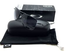 Oakley Black Sunglasses OO 4087 01 60 mm TailHook Sport Satin Bk Grey