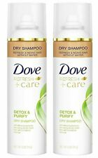 Dove Refresh + Care Dry Shampoo Detox & Purify 2 Bottle Pack