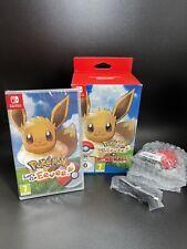 Pokemon Let's Go Eevee Plus Poke Ball Plus-Nuevo Sellado-Nintendo Switch Juego
