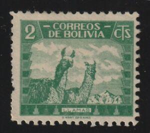 Bolivia 1939 #251 Llamas - MH