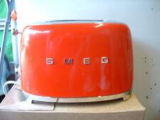 Smeg TSF01RDUK RED 50's Retro Style 2 Slice Toaster-Customer Return-Warranty