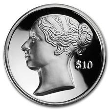 2017 BVI Queen Victoria 2 oz Ultra High Relief Piedfort Silver Coin - 650 Made