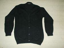 MEN'S 100% WOOL CARDIGAN in Size Small in Good Used Condition Worn Twice
