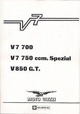 Instandsetzungsanleitung ; Anleitung für Moto Guzzi V7 700 750 V850 GT G.T. neu