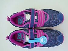 NEW Stride Rite Made 2 Play Shoes Size 2 Girls Purple Blue Washable Navy $40