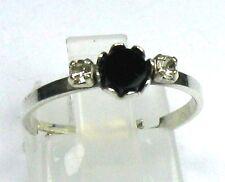 Onyx-Ring 835 er Silber Gr. 56/17,5 mm !!!