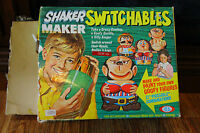 Ideal Shaker Maker Switchables Includes Sealed Magic Mix Packets 1971 RARE