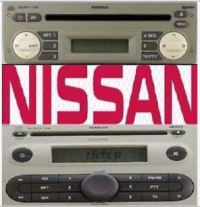 Nissan Radio Code Micra K-12 Note Astra Expert Blaupunkt BP Radio Code Unlock