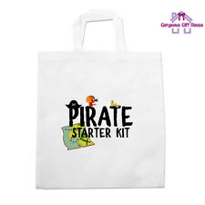 Pirate Starter Kit Tote Bag, Boy's Birthday Gifts, Pirate Themed Presents