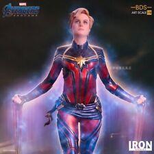 Iron Studios 1/10 Scale  Avengers Endgame Captain Marvel BDS Art Model Toy Gifts