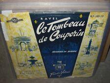 "VALENZI / RAVEL tombeau de couperin ( classical ) 10"""