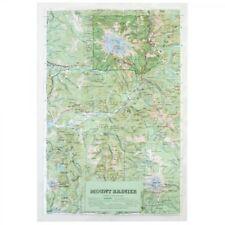 Mt. Rainier National Park Vinyl Raised Relief Map Unframed