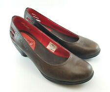 Merrell Evera Pure Womens Coffee Chocolate Brown Cycling Pumps Size 8