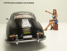 FIGURINE PIN UP 70'S -6 autostoppeuse 1/18