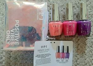 OPI Positive Vibes Only - 3pc Infinite Shine Neon Collection Gift Set