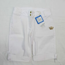 ADIDAS ORIGINALS shorts/bermuda donna BLQ E61100 col.BIA tg.40 estate 2013