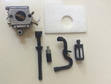 Vergaser Stihl Motorsäge  MS 180 + Filterset Oil + Luftfilter Krafstoffschlauch