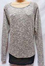 Next Women's Long Sleeve Hip Length Cotton Blend Jumpers & Cardigans
