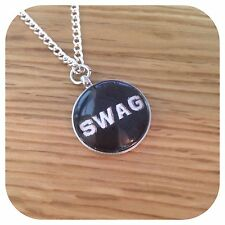 SWAG Charm pendant necklace
