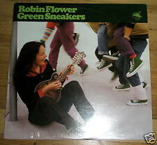 ROBIN FLOWER green sneakers LP RECORD - Sealed