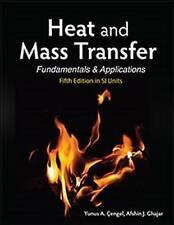 Heat and Mass Transfer (in SI Units) by Yunus A. Cengel, Afshin J. Ghajar (Paperback, 2014)
