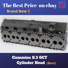 Cummins 8.3 8.3L  6C  6CT  6CTA Cylinder Head(Bare)---FREE SHIPPING(From US)