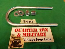 Jeep Willys MB GPW CJ2A CJ3A M38 large U-bolt for front right leaf spring