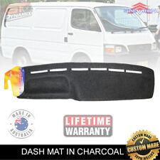 DASH MAT for Toyota Hiace VAN LH Series 1/1990-12/2004 DM134 Charcoal EXPRESS