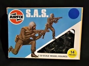 AIRFIX 1983 CPG ISSUE BRITISH SAS COMPLETE SET # 1  GREAT CONDITION.