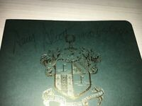 Amy Alcott  1980 US Woman's Open Signed Richland Country Club Scorecard