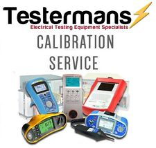 Calibration Service Multifunction Tester Megger, Metrel, Kewtech, Fluke, Seaward