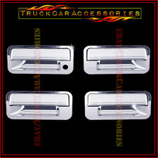 For GMC Yukon 1992-1995 1996 1997 1998 1999 Chrome 4 Door Handle Covers w/o PK