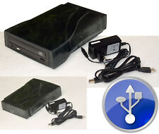 EXTERN USB CD-ROM CD-RW CDRW MIT POWER SUPPLY AUCH F. PANASONIC CF-27 CF28 #DV15