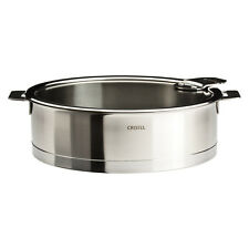 Cristel Strate Removable Handle - 5.5 Qt Saute Pan w/Lid