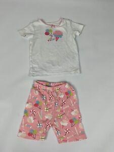 Gymboree Cotton Candy PJs Pajamas Gymmies Set 3 Girls Cute!