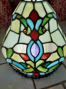 Stained Glass Tiffany Style Leaded Lamp Shade