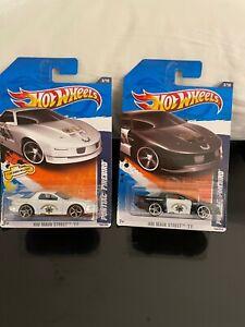 Hot Wheels Lot 2x Pontiac Firebird HW Main Street '11 D2!