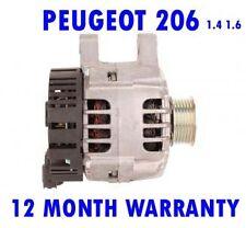 PEUGEOT 206 SW CC 1.1 1.4 1.6 16V 1998 1999 2000 2001 - 2015 ALTERNATOR