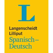 NEU: Langenscheidt Lilliput SPANISCH-Deutsch - Das kleine Mini-Wörterbuch