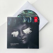 Adobe Photoshop Lightroom 4 DVD for PC Or Mac UPGRADE VERSION
