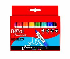 Berol Flipchart Marker Assorted (8 Pack) S0377960