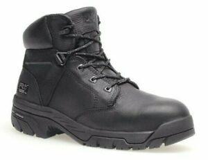 "🔥NEW! TIMBERLAND PRO Helix 6"" Composite Toe Black Men Work Boot 87517🔥"