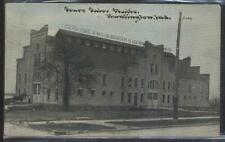 Postcard HUNTINGTON Indiana/IN  Sours Sales Horse Stables Building view 1907